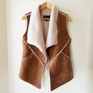 Sanctuary Sherpa Shearling Vest